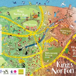 Kings Norton map.