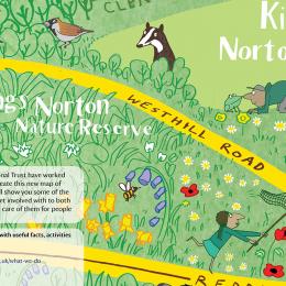 Kings Norton map (detail)