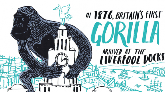 Liverpool facts- a social media campaign advertising Locality's annual conference in Liverpool in 2015
